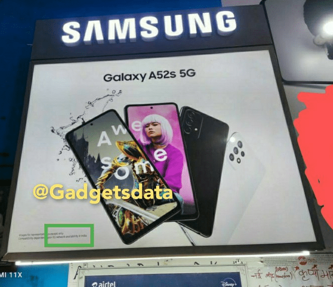 Запуск Samsung Galaxy A52s 5G в Индии неизбежен
