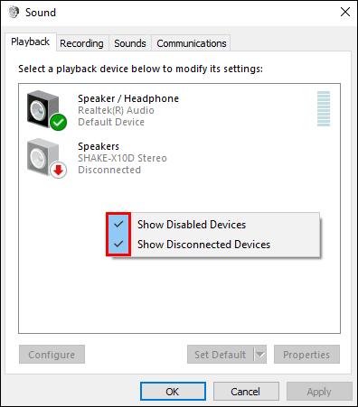 Не работают наушники на компьютере Windows 10