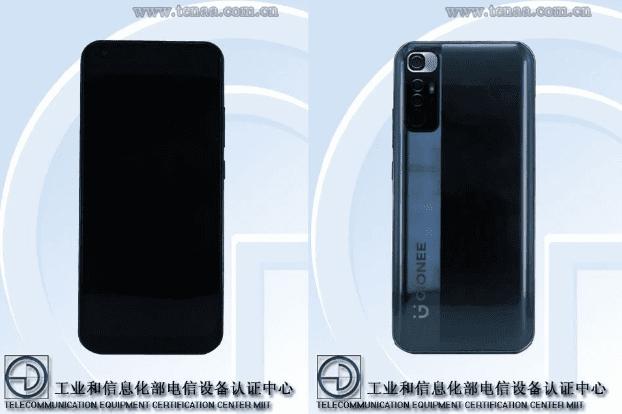 Стали известны подробности предстоящего телефона Gionee с дизайном серии Redmi Note 10