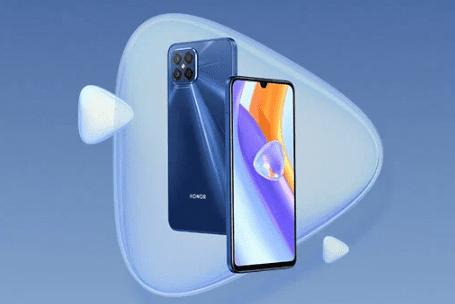Honor Play5 с Dimensity 800U поступит в Китай в новом синем цвете