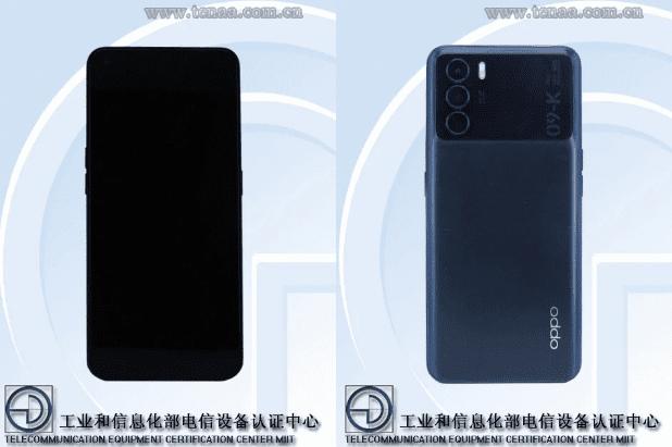 Дизайн смартфона OPPO PEYMOO просочился через TENAA