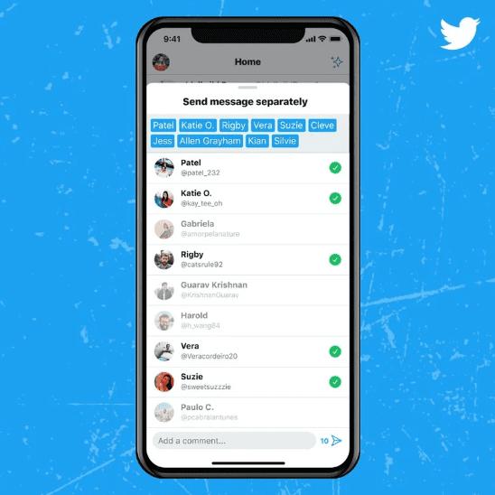 Twitter объявила об изменениях в прямом обмене сообщениями и навигации