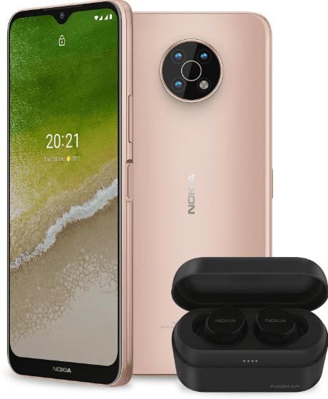 В сети появились пресс-рендеры Nokia G50 5G