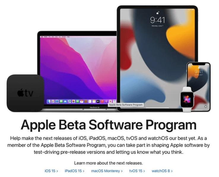 Как установить общедоступную бета-версию iOS 15
