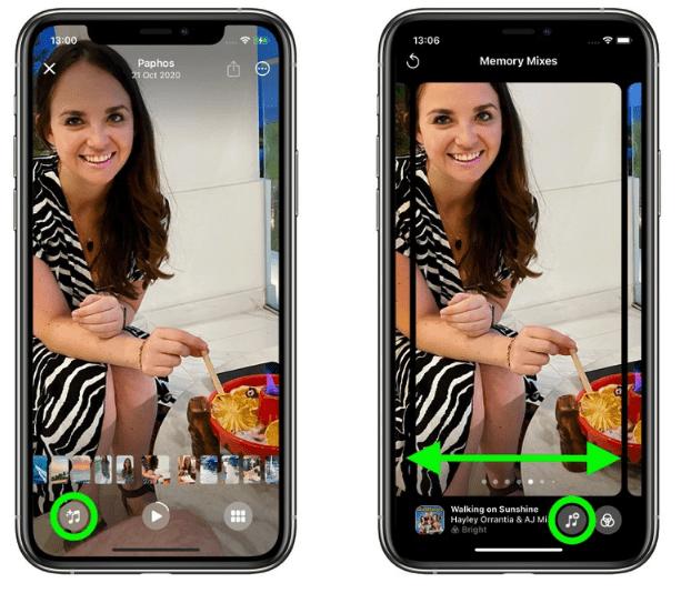 iOS 15: как добавить песни Apple Music в свои воспоминания в фотографиях