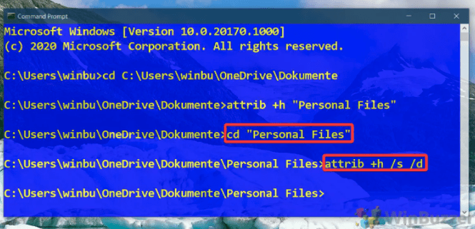 как видеть скрытые файлы и папки windows 10