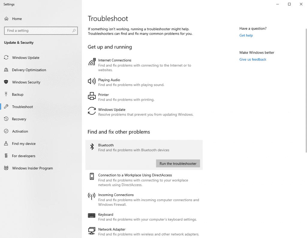 Как включить Bluetooth на Windows 10?