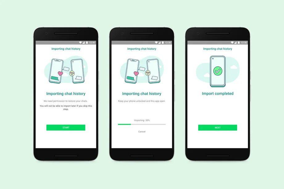 WhatsApp наконец-то представит функцию передачи чата между iOS и Android