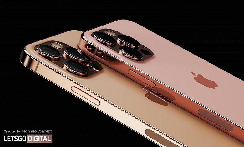 Смартфоны iPhone 13 Pro в новых цветах представили на изображениях