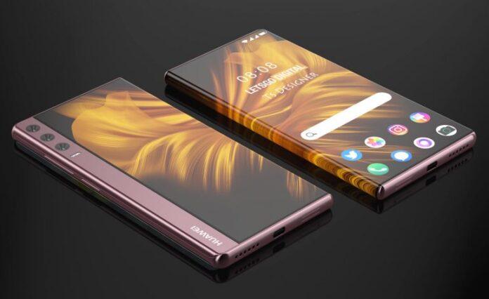 Huawei патентует футуристический телефон серии Mate с выдвижным дисплеем