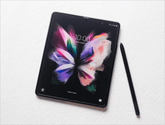 Samsung Galaxy Z Fold 3 может быть поврежден при использовании с S Pen