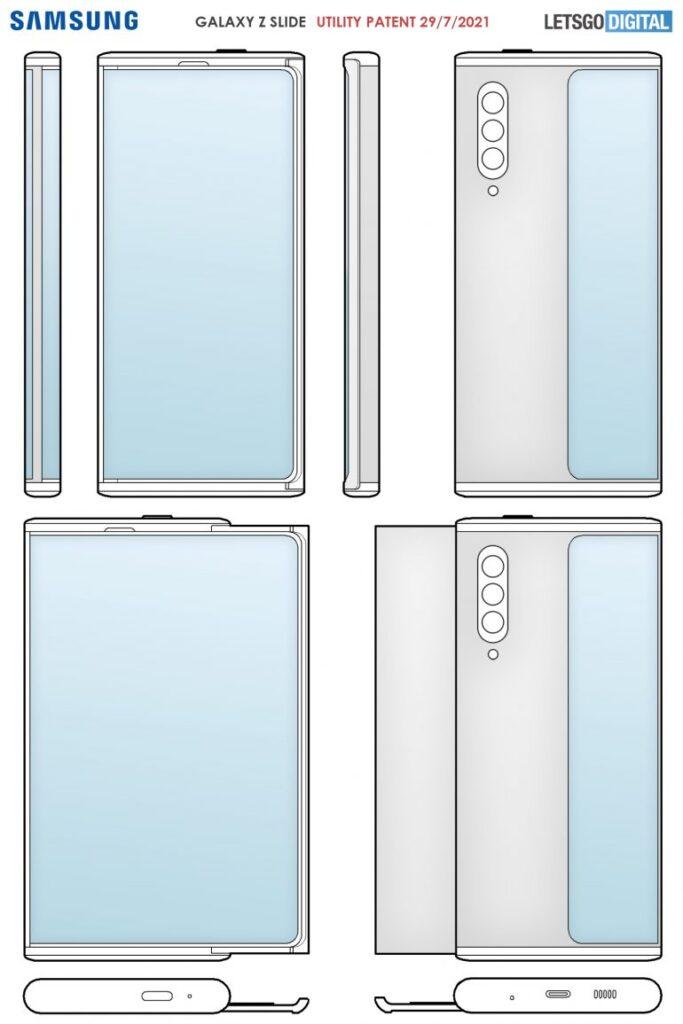 Samsung может выпустить Galaxy Z Slide с выдвижным подвижным дисплеем