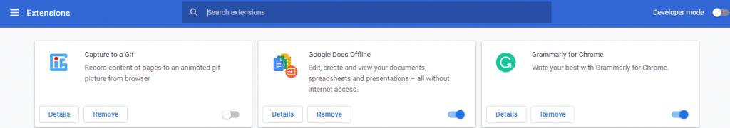 Google Chrome сильно грузит процессор