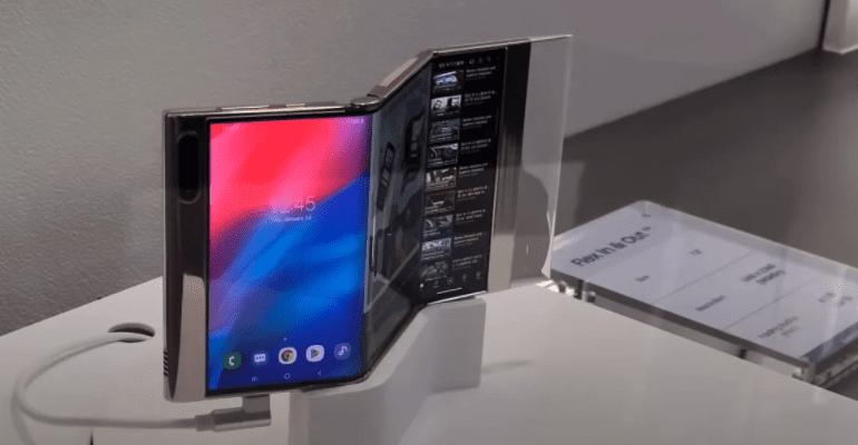 Samsung показала рабочий прототип дисплея Flex In & Out