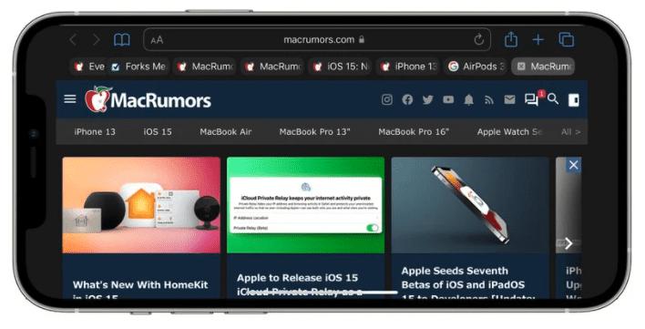 iOS 15: что нового в Safari
