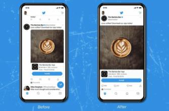 Twitter тестирует изображения и видео от края до края на iOS