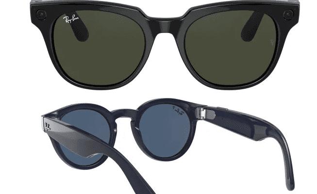 Появилась информация о будущих умных очках Facebook и Ray-Ban