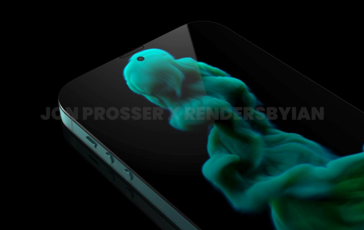 Будущий смартфон iPhone 14 представили на рендерах за год до анонса