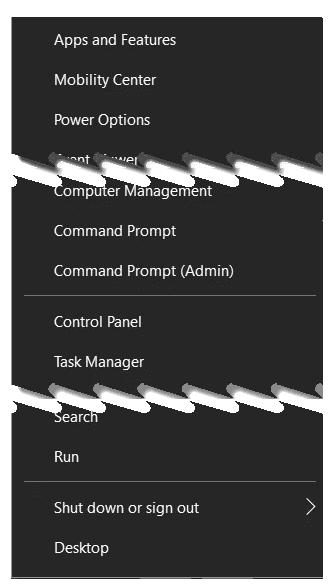 Что такое меню WinX и как его открыть в Windows 11?