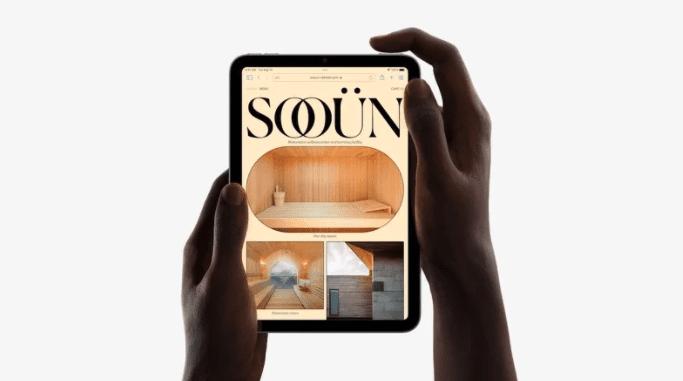 Apple представила обновленный iPad Mini шестого поколения