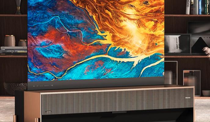 Hisense анонсирует первый в мире лазерный телевизор с подвижным экраном