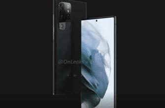 Samsung Galaxy S22 Ultra просочился в виде ранних рендеров