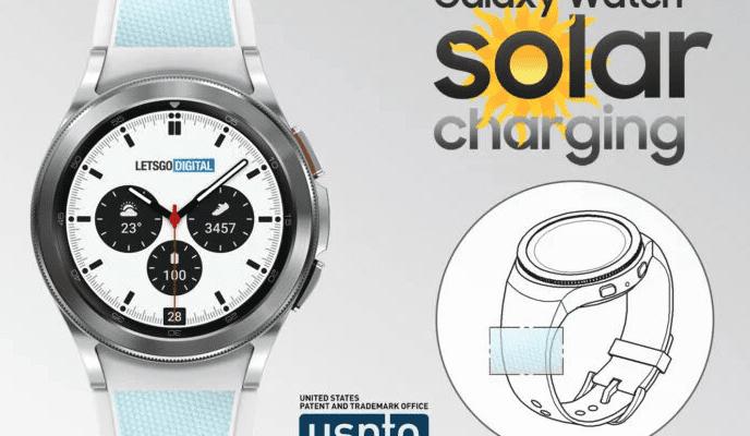 Патент показывает, что Samsung может разработать часы Galaxy Watch на солнечной энергии