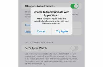 У некоторых владельцев iPhone 13 не работает разблокировка с помощью Apple Watch