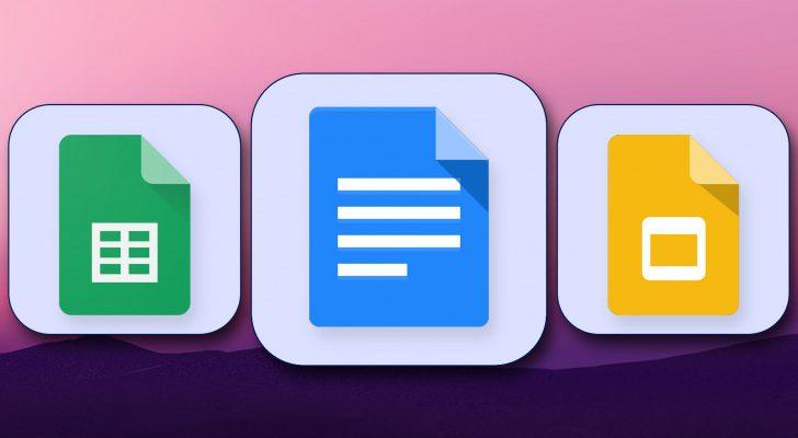 Google представила новый Material You для Документов, Таблиц и Презентаций Google