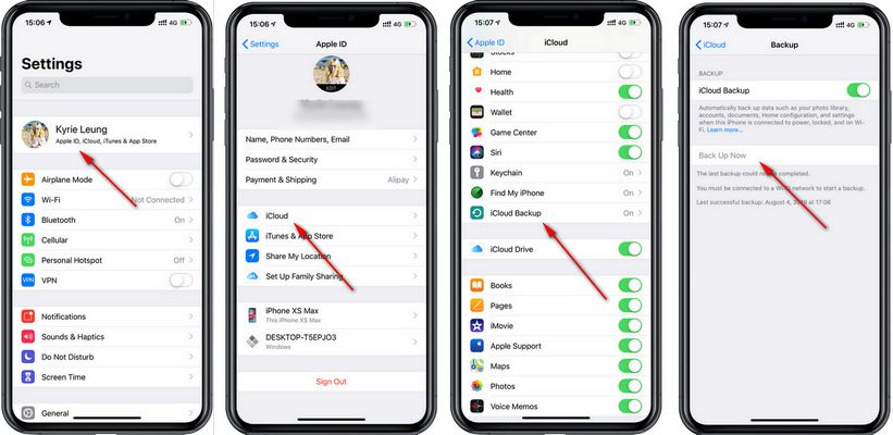 Как перенести данные с iPhone на Samsung