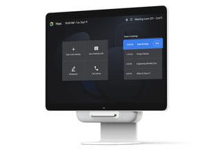 Новые мониторы Google Series One включают 65-дюймового конкурента Surface Hub