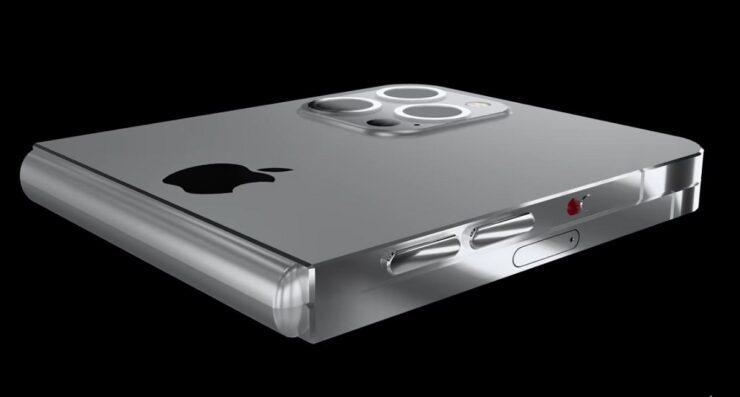 Новый концепт iPhone Flip предусматривает технологию AirCharge, чип M1, сенсорный идентификатор на дисплее и многое другое