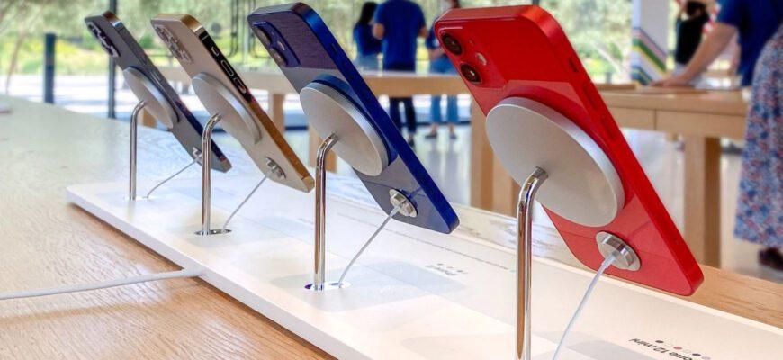 Доля рынка iPhone упала на 4-е место в преддверии выхода iPhone 13