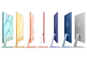 Apple скоро предложит все цвета 24-дюймового M1 iMac в своих розничных магазинах