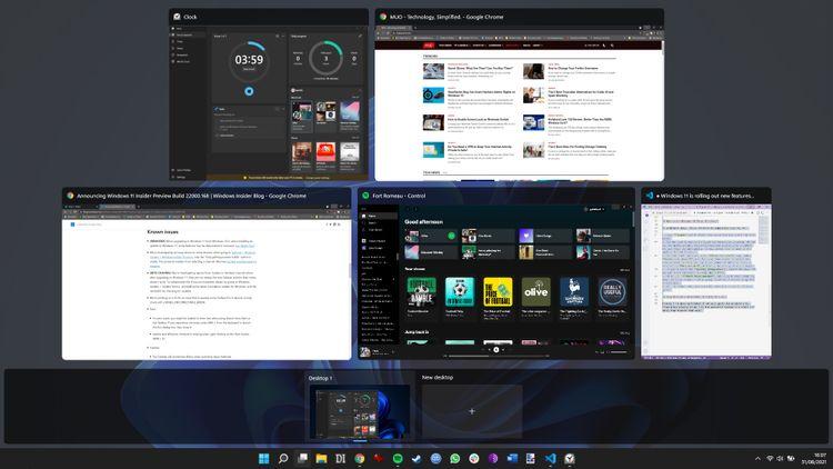 Как создать виртуальные рабочие столы Windows 11?