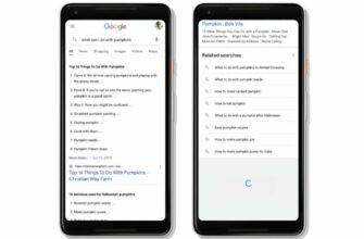 В мобильном поиске Google появилась непрерывная прокрутка