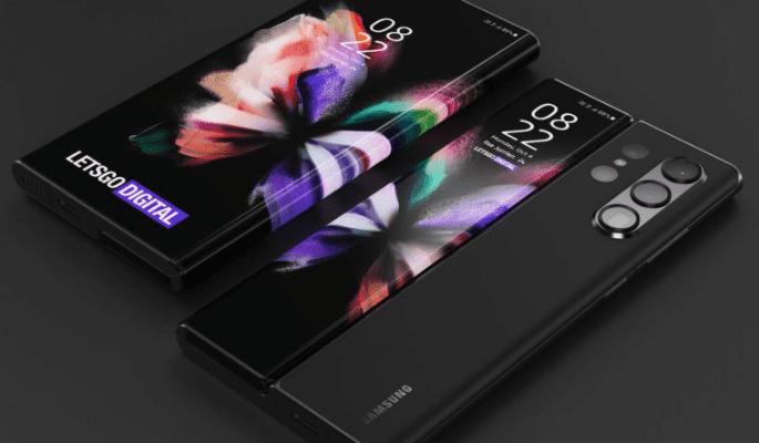 Концепт Samsung Galaxy Z Fold Note: дисплей с пером S Pen