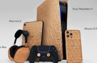 Caviar выпускает PS5, iPad mini, AirPods Max и iPhone 13 Pro в золотом корпусе