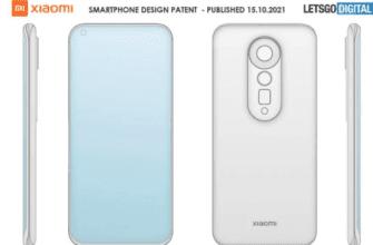 Xiaomi запатентовал смартфон с изогнутым дисплеем и телеобъективом с зумом
