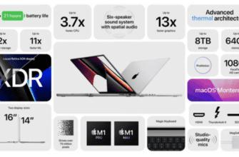 Новые MacBook Pro предлагают на 10 часов больше времени автономной работы, чем предыдущее поколение