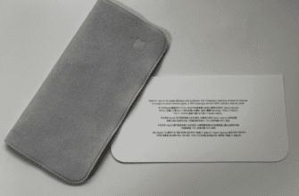 Первые изображения новой полировальной ткани Apple появились в сети