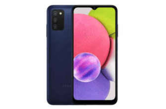Samsung Galaxy A03 внесен в список на сайте Samsung в Индии и России