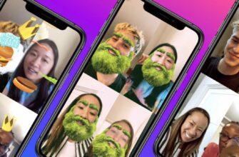 Facebook Messenger для iOS получает новые возможности дополненной реальности для видеозвонков