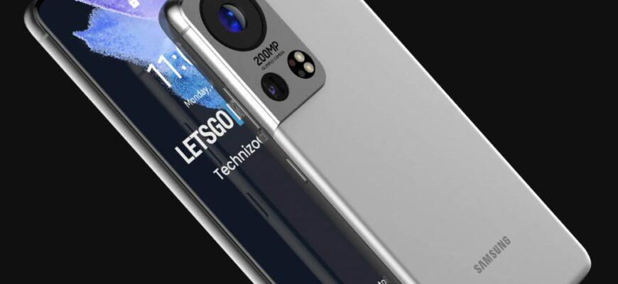 Новая утечка Samsung Galaxy S22 Ultra раскрывает дизайн телефона