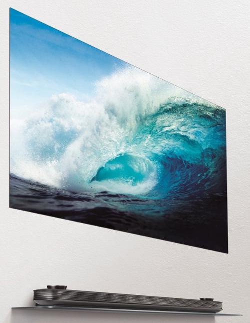тонкие OLED-телевизоры семейства LG Signature W