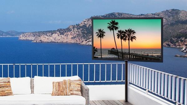 Peerless-AV представит всепогодный 4K UHD-телевизор UV492